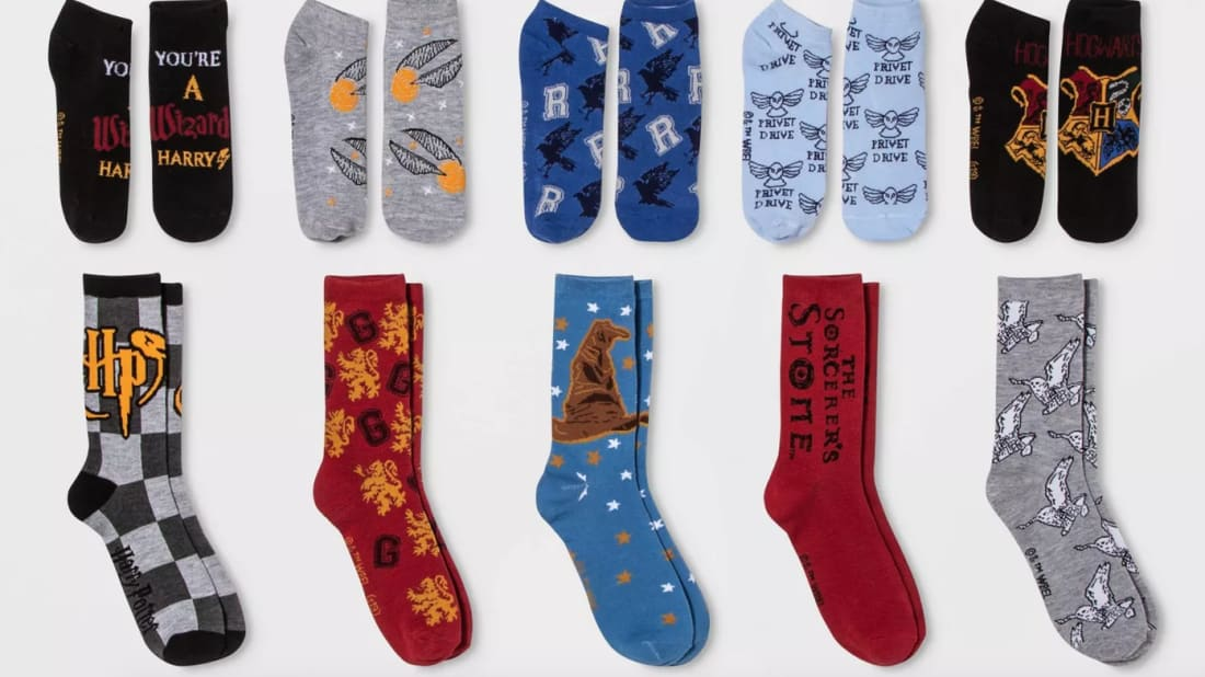 Celebrate the Holidays With a Harry Potter Sock Advent Calendar From Target