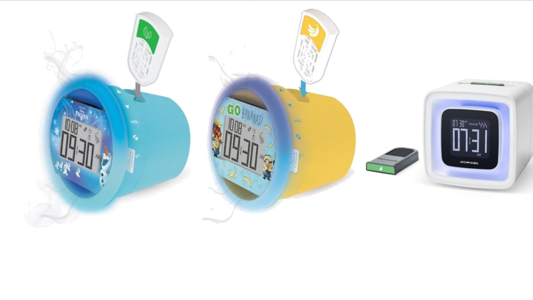 Perfume Alarm Clocks Promise to Wake Kids Up to Their