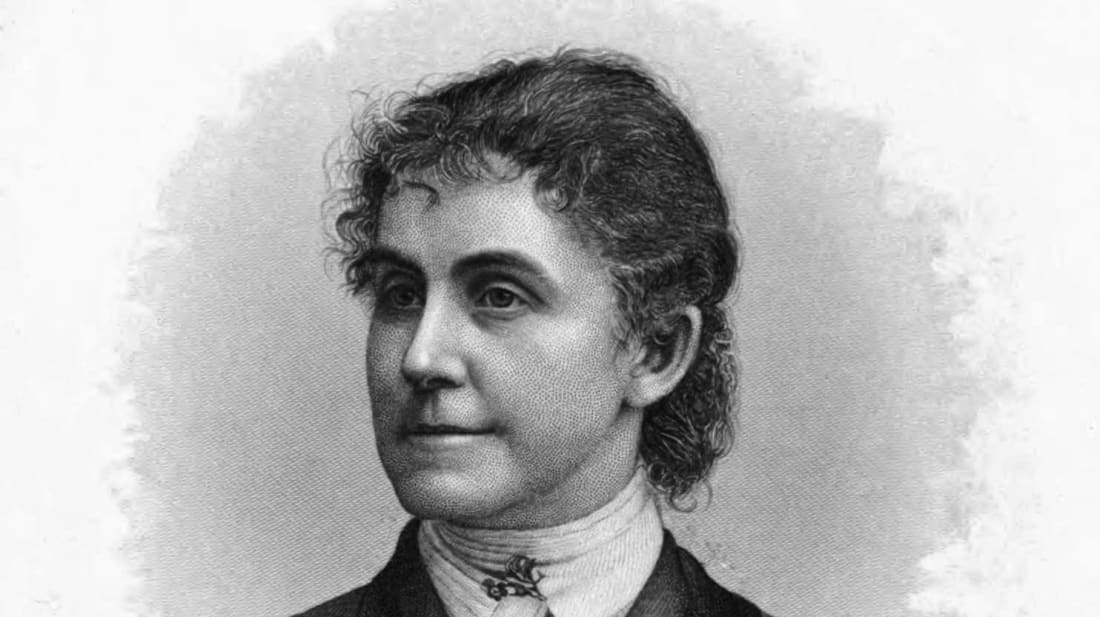Phoebe Couzins, first female U.S. Marshal