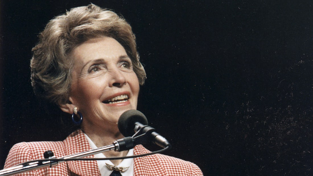 When Nancy Reagan Told Kids to 'Just Say No'
