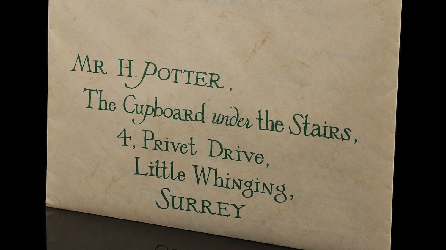 Harry Potter S Hogwarts Acceptance Letter Is Hitting The Auction Block Mental Floss