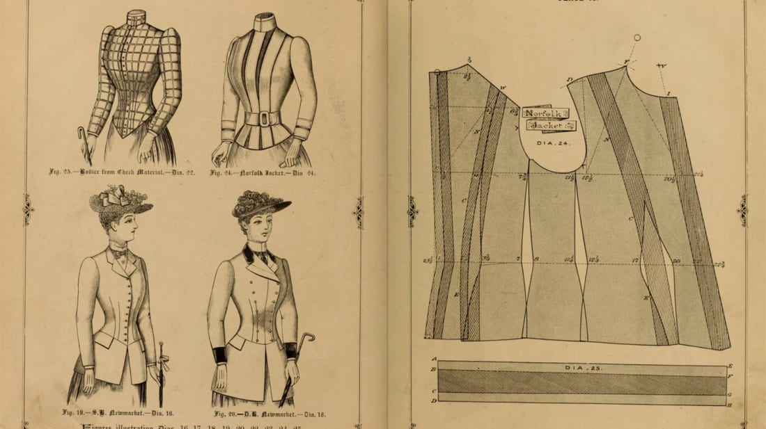 From The Cutters' Practical Guide To The Cutting Of Ladies' Garments, 1890