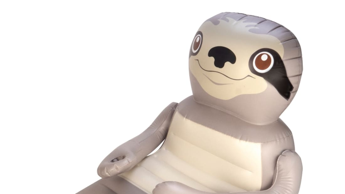 This Inflatable Sloth Pool Float Is the Perfect Accessory for Lazy ...