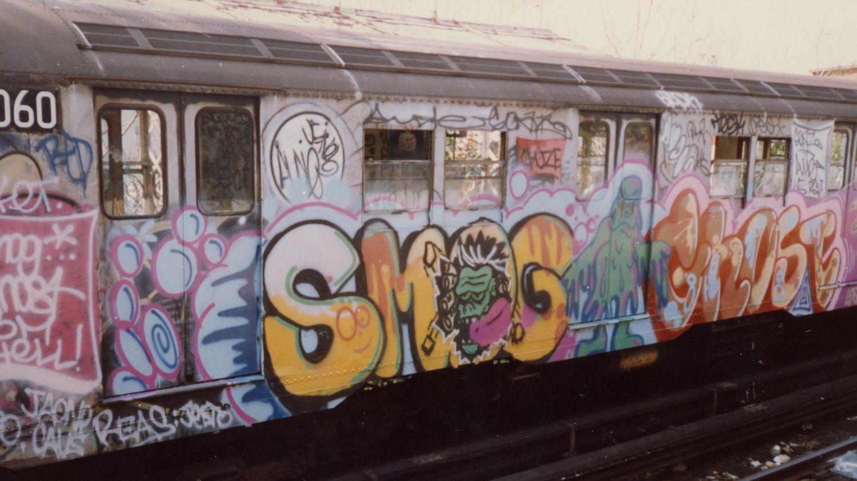 7 Train Graffiti