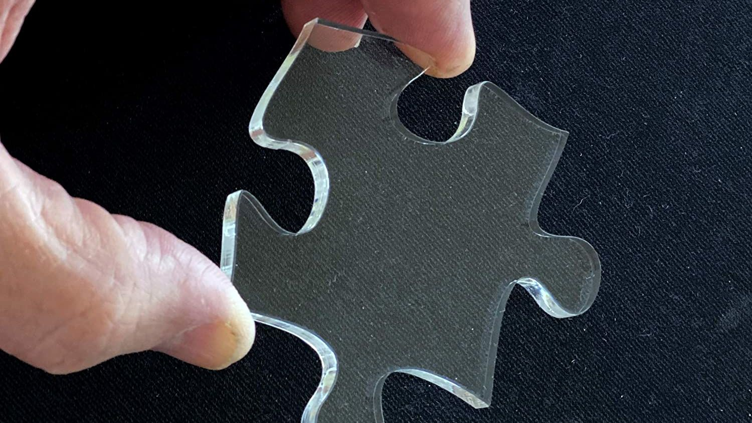 This 'Practically Impossible' Clear Jigsaw Puzzle Is the Perfect Antidote to Boredom