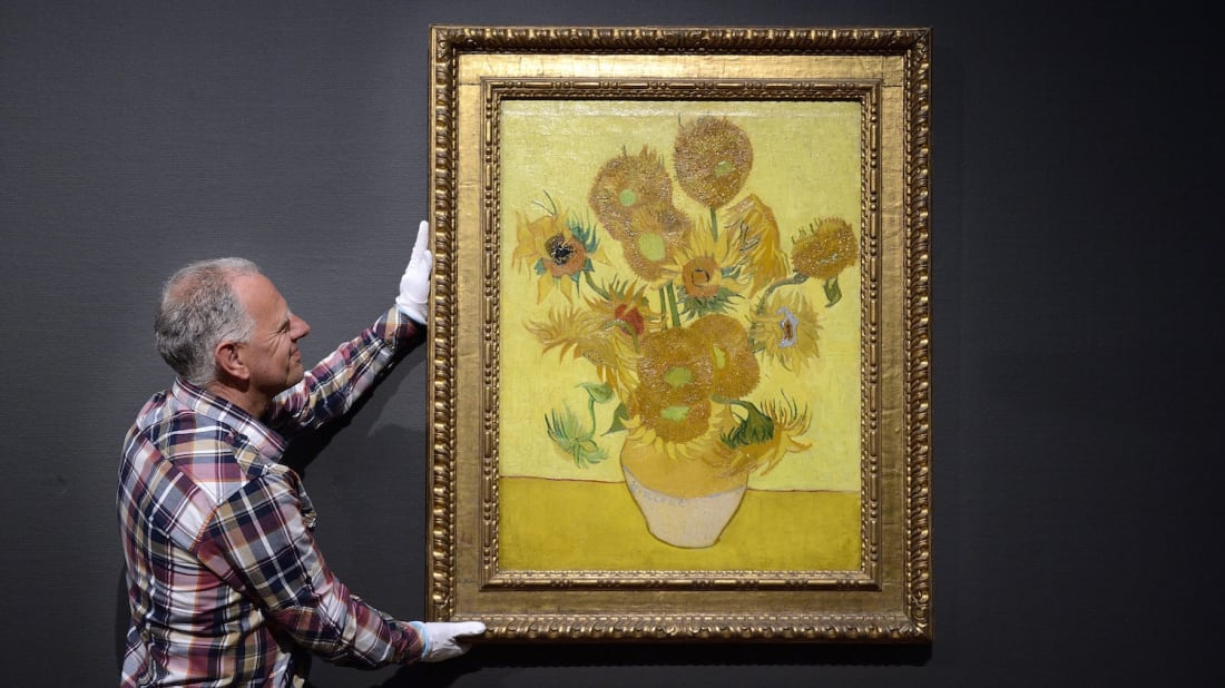 15 Facts About Vincent Van Gogh S Sunflowers Mental Floss