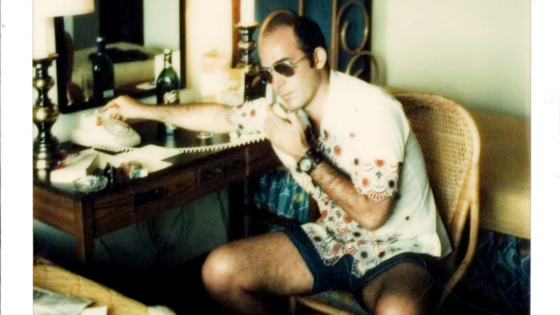 Hunter S. Thompson in Gonzo: The Life and Work of Hunter S. Thompson (2008)