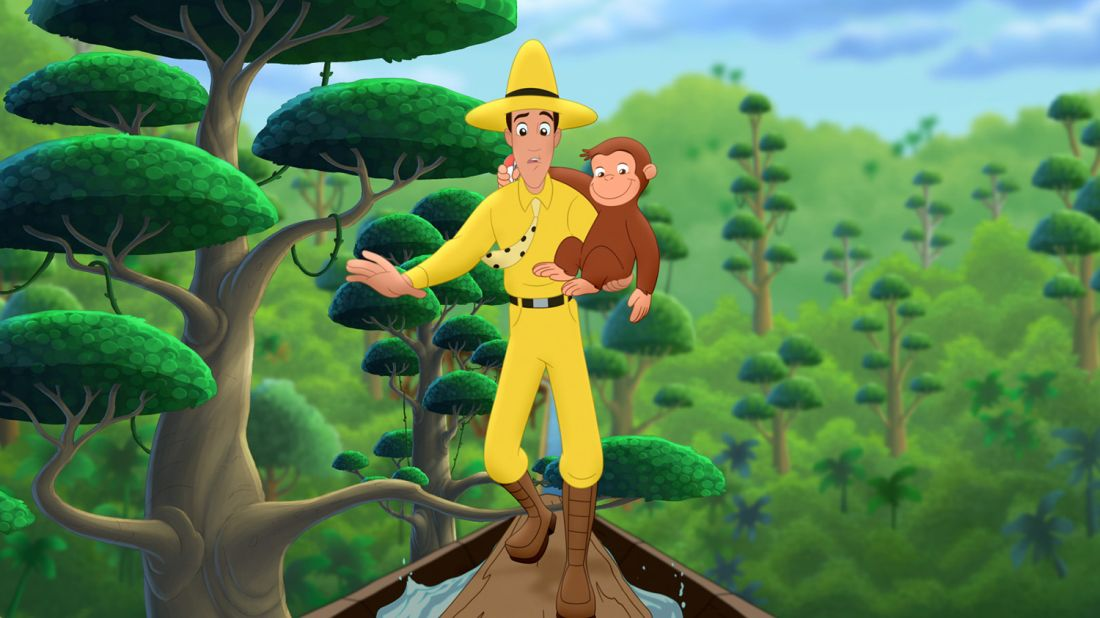 Courtesy of CURIOUS GEORGE is a production of Imagine, WGBH, and Universal. Curious George and related characters, created by Margret and H.A. Rey, are copyrighted and trademarked by Houghton Mifflin Harcourt Publishing Company and using under license. Licensed by UNIVERSAL STUDIOS LICENSING LLC. Television series: (c) 2015 Universal Studios. All rights reserved.