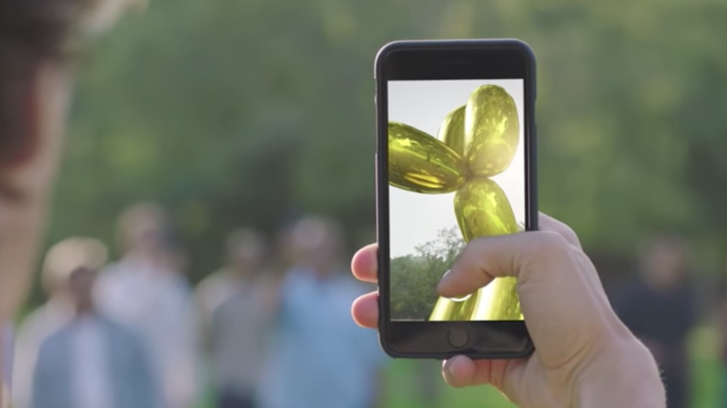 Snapchat and Jeff Koons Have Created an Augmented-Reality Art Treasure Hunt