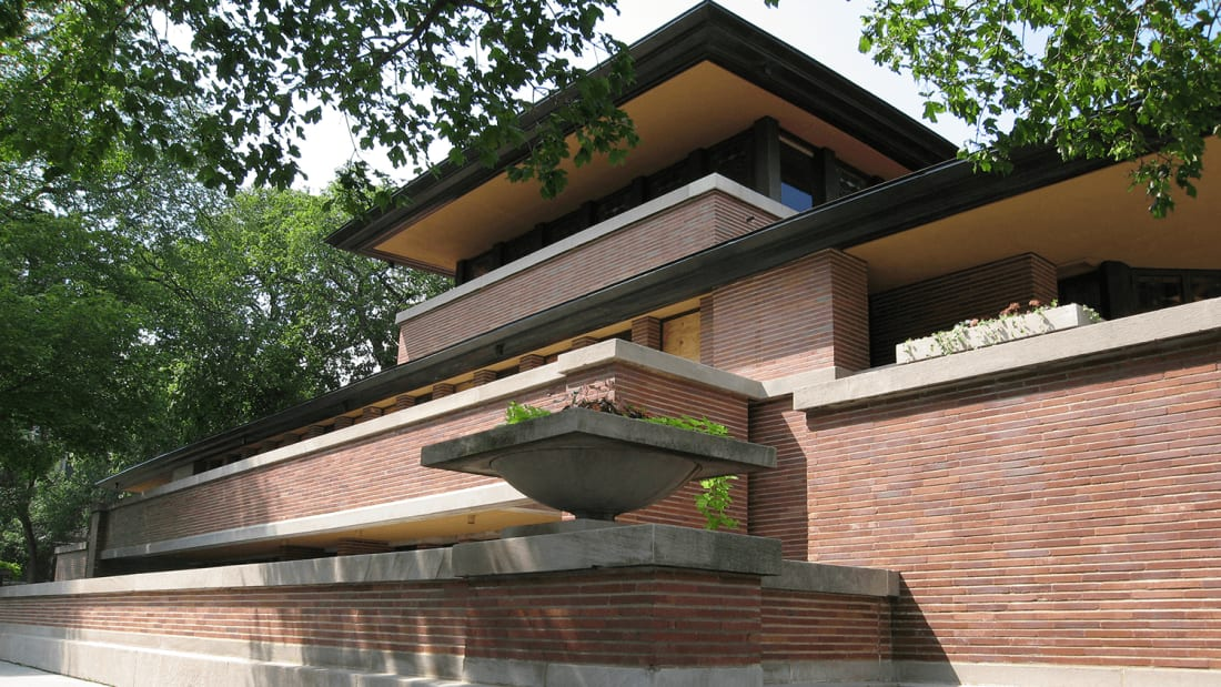 Frank Lloyd Wright's Robie House, 1909
