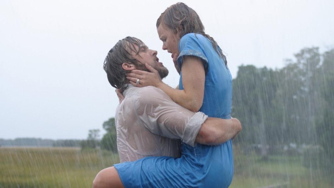 Ryan Gosling and Rachel McAdams star in The Notebook (2004).
