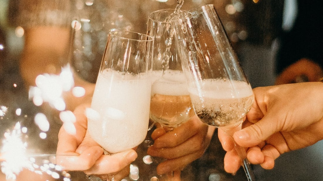 Cheers to ringing in the new year with these champagne facts.