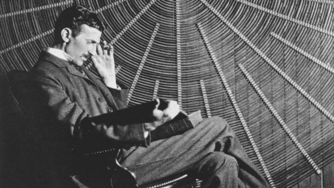 Nikola Tesla, 1896.
