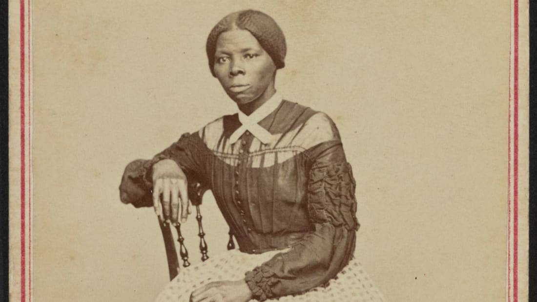 Harriet Tubman photographed by Benjamin Powelson in the late 1860s.