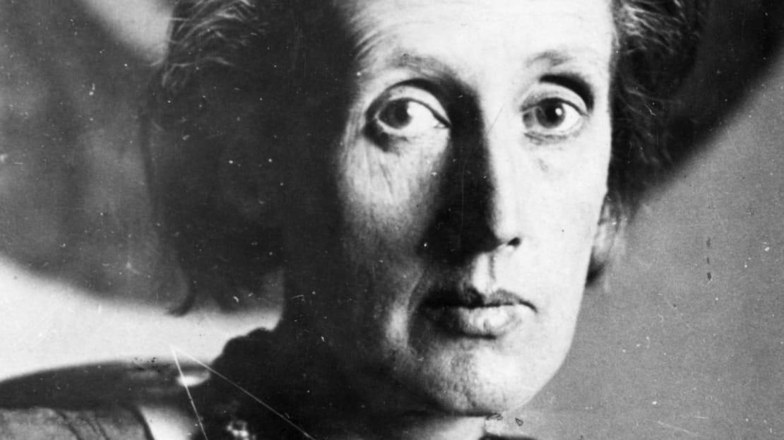 Virginia Woolf in 1929.