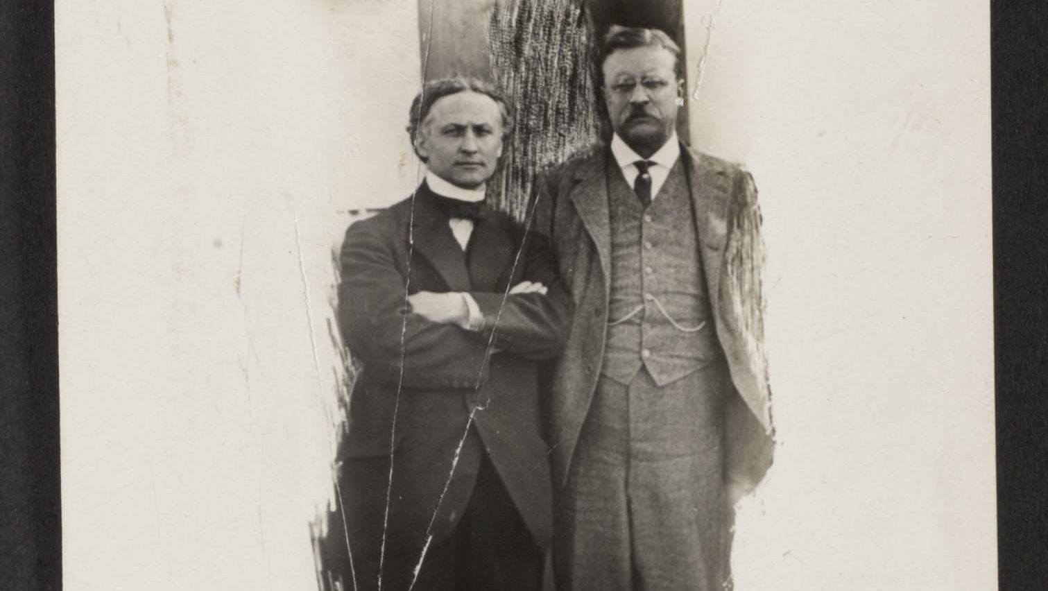 How to Baffle a Bull Moose: The Time Harry Houdini Tricked Theodore Roosevelt