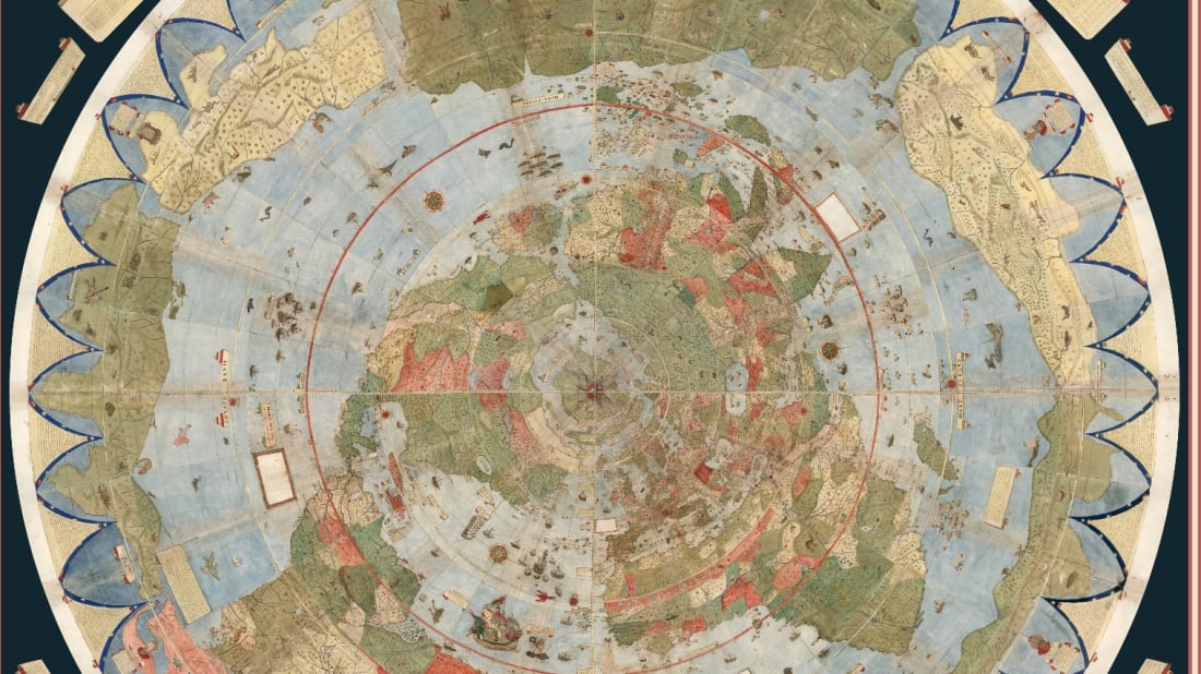 The Largest Known Map of the 16th-Century World Has Been Digitized on