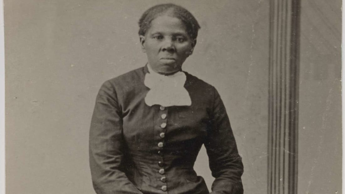 A photograph of Harriet Tubman taken by Harvey B. Lindsley in the 1870s.