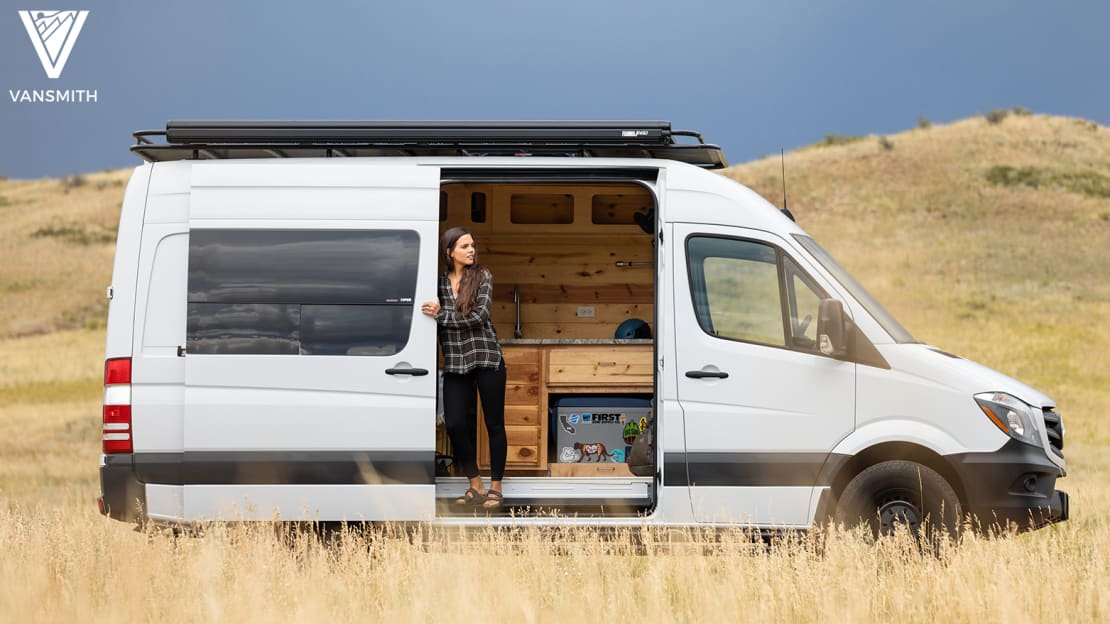 Whoever wins the van from Omaze can customize it to suit their tastes.