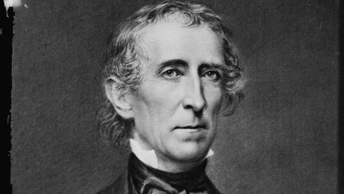 President John Tyler.