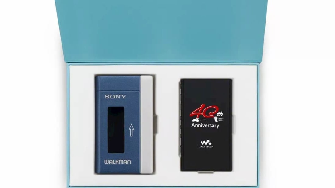 Sony's Special 40th Anniversary Edition Walkman Does