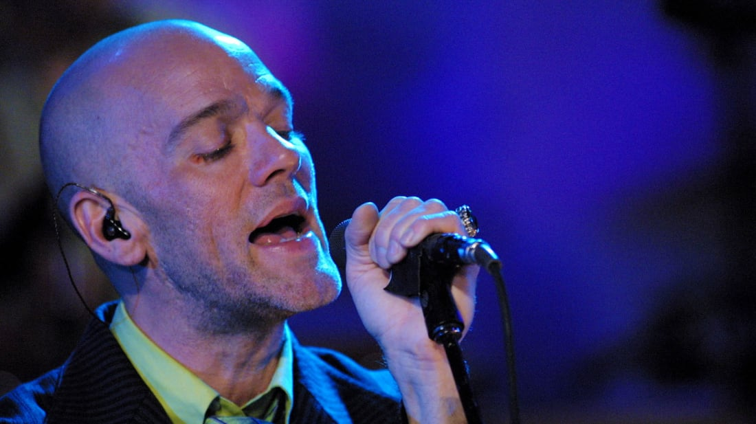 Michael Stipe of R.E.M. goes Unplugged.