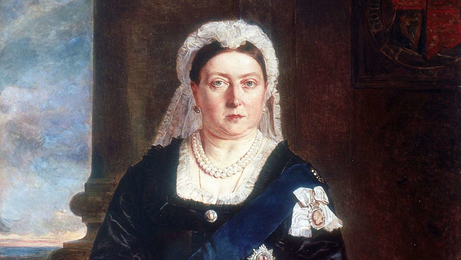 QUEEN VICTORIA, BORN MAY 24TH 1819. ASCENDED THE THRONE