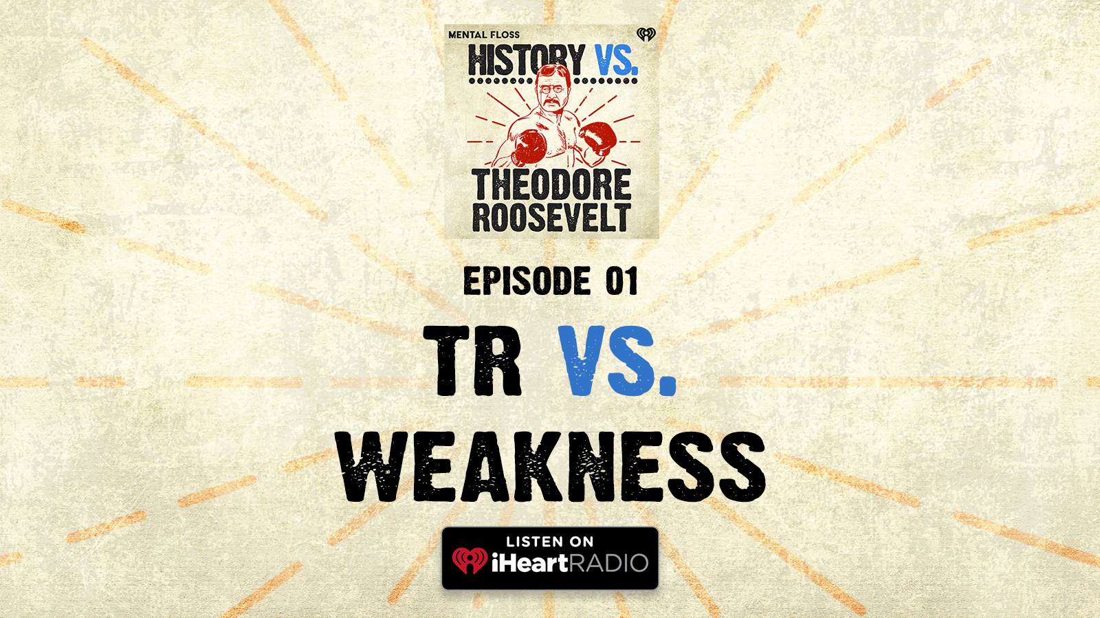 History Vs. Episode 1: TR Vs. Weakness