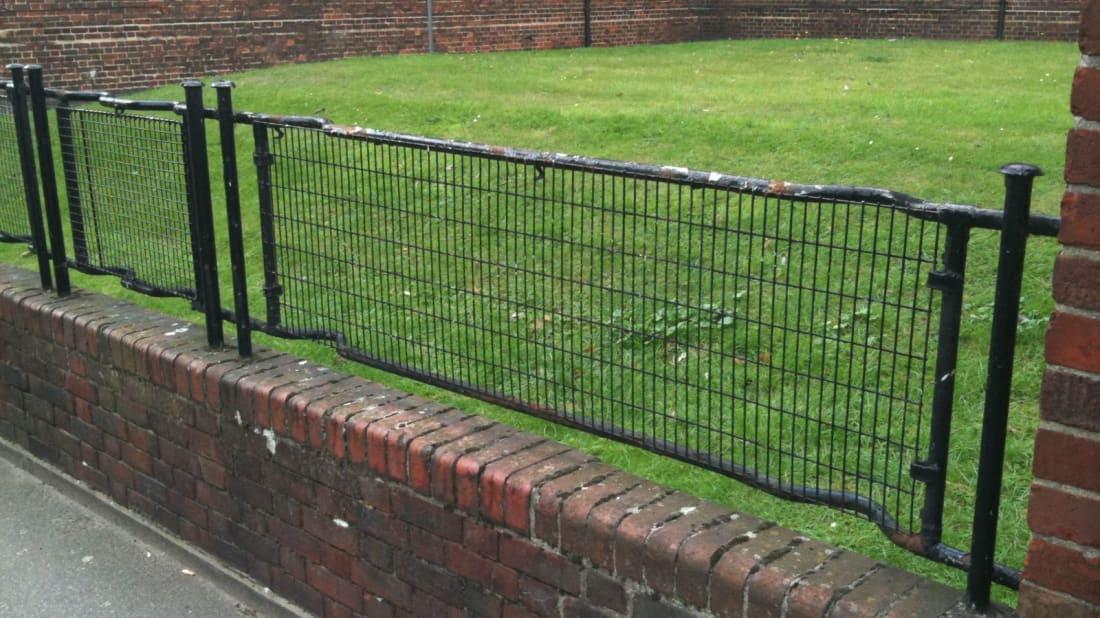 The Secret World War II History Hidden in London's Fences