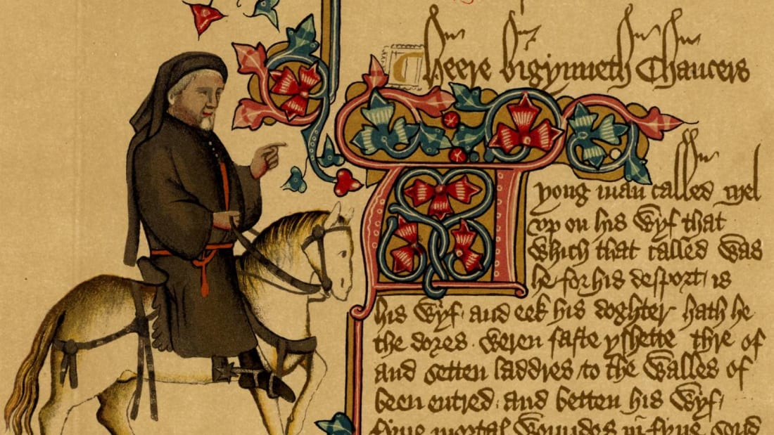 New App Lets You Hear Chaucer's The Canterbury Tales in Original 14th-Century English