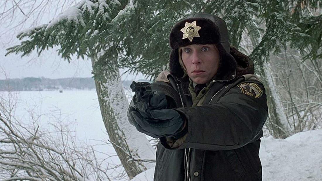 Frances McDormand won an Oscar for her role as Marge Gunderson in Fargo (1996).