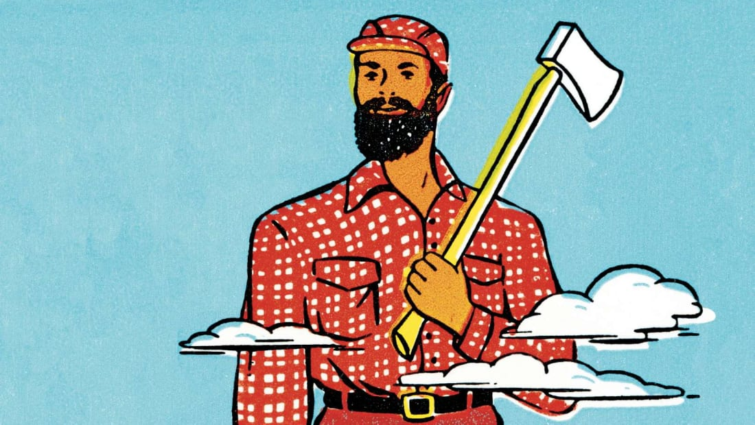 Who needs nature when you have Paul Bunyan?