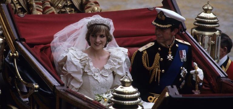 Princess Diana's wedding attire captivated both England and the world.