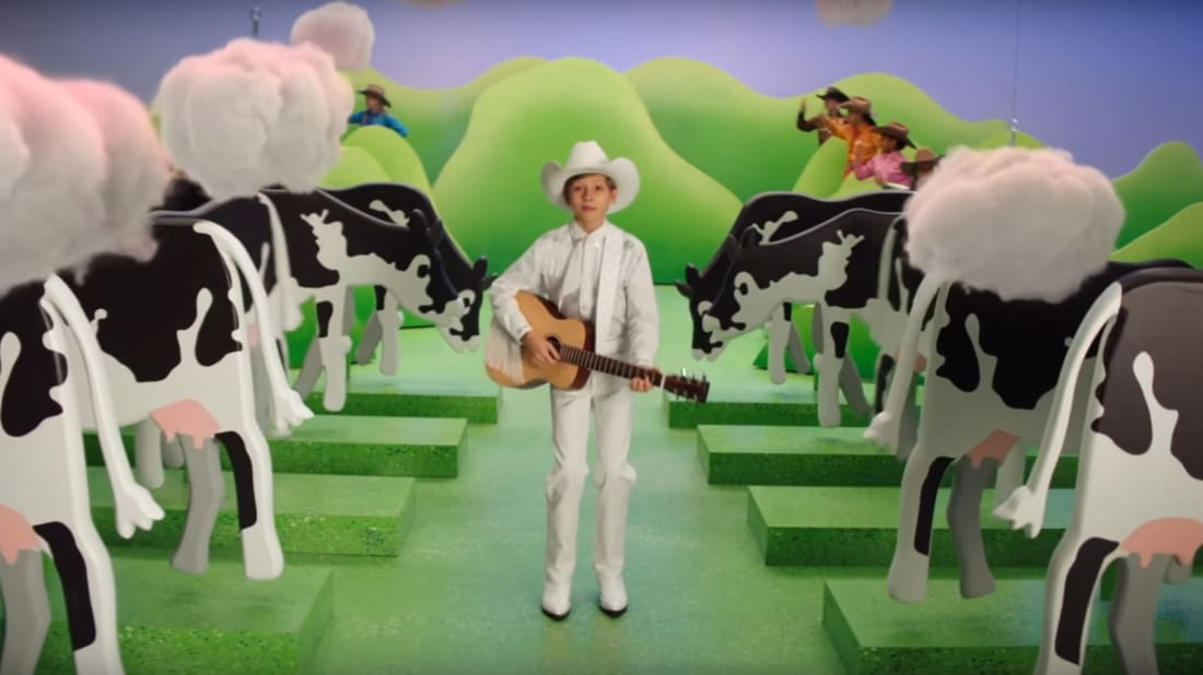 A Burger King ad about cow farts is drawing controversy.