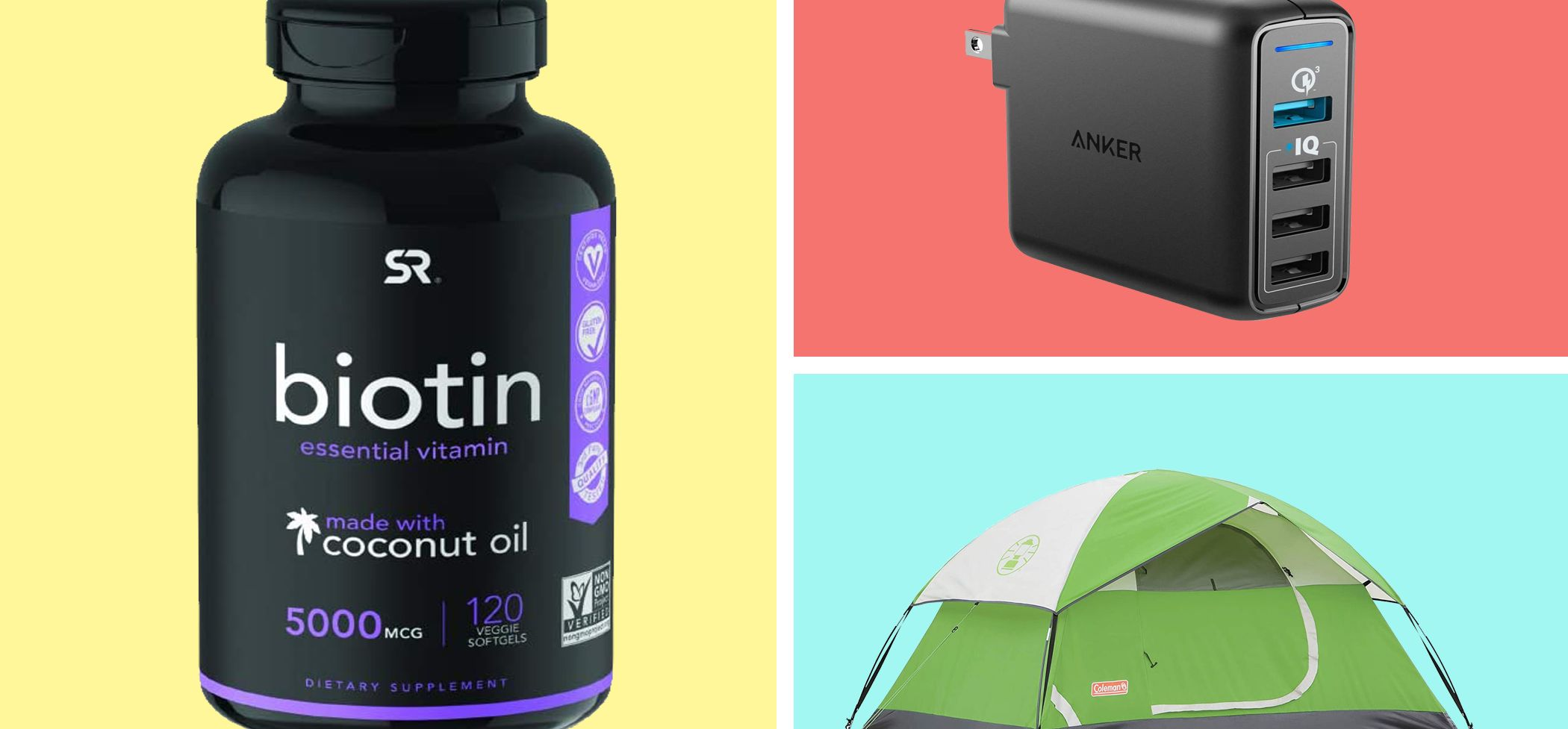 Wednesday's Best Amazon Deals Include Memory Foam Pillows, Juicers, and Tents