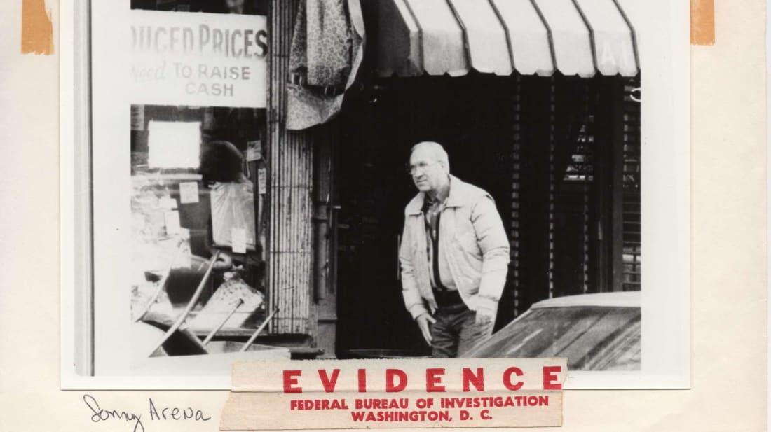 Archival FBI surveillance image featured in Fear City: New York vs. The Mafia (2020).
