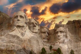 It took three years just to carve Washington's likeness.