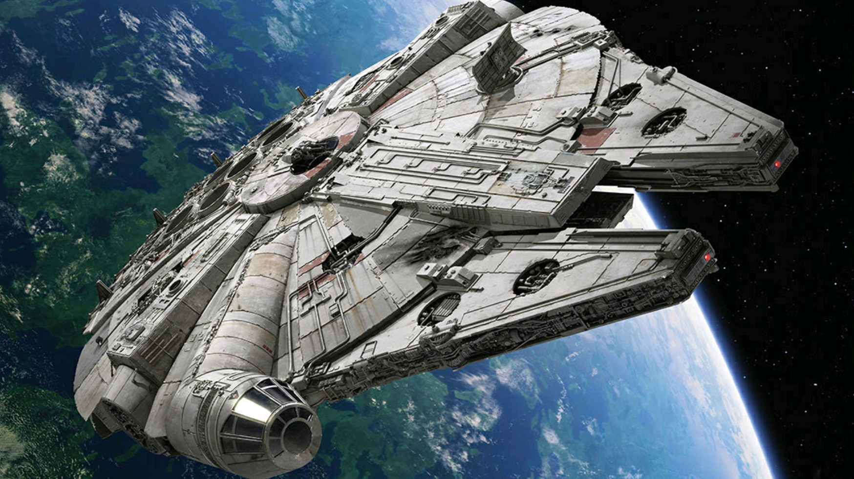 star wars s millennium falcon insurance costs mental floss. Black Bedroom Furniture Sets. Home Design Ideas
