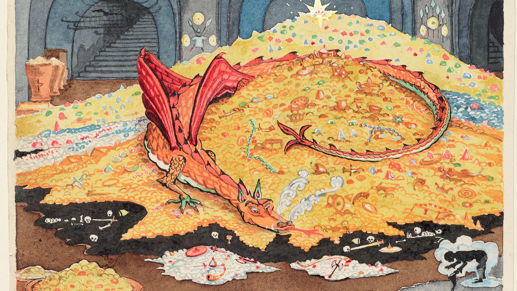 Original Drawings by Tolkien Are Coming to New York's ...