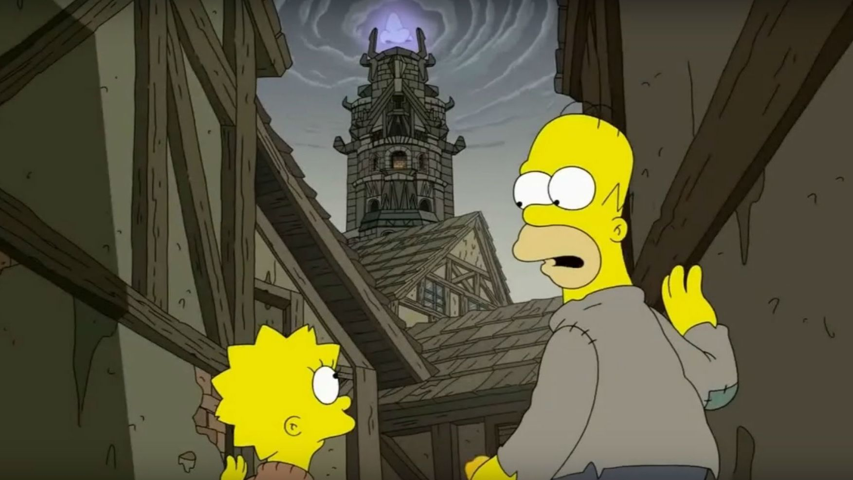 Simpsons Christmas Boogie.The Simpsons Predicted That Penultimate Game Of Thrones
