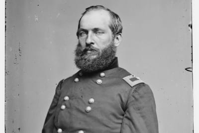 James Garfield sometime between 1855 and 1865.