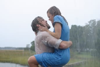 Ryan Gosling and Rachel McAdams star in The Notebook (2004).