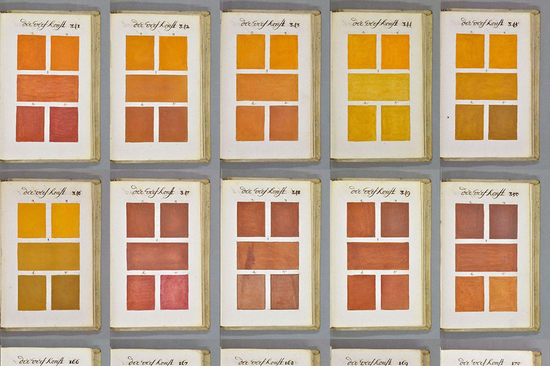 This Comprehensive Color Guide Predates Pantone by Centuries