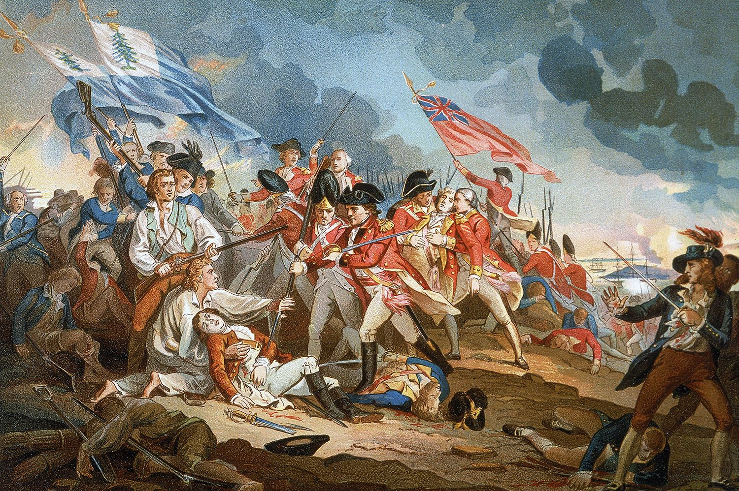 11 Facts About The Battle Of Bunker Hill Mental Floss