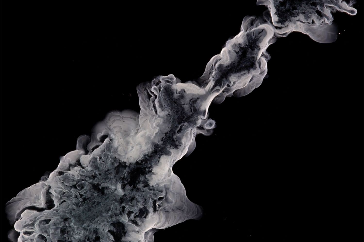 Eye catching videos show the beauty of chemical reactions