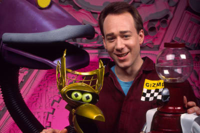 Joel Hodgson and the 'Bots on Mystery Science Theater 3000.
