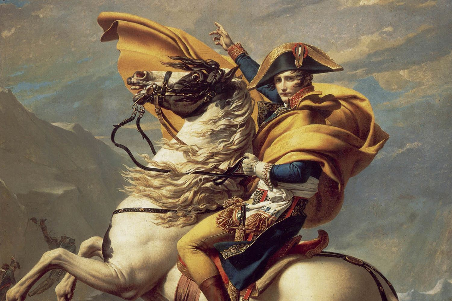 15 Things You Should Know About Jacques Louis David S Napoleon Crossing The Alps Mental Floss
