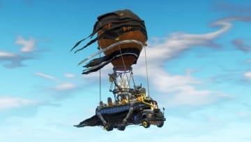The Fortnitemares Battle Bus