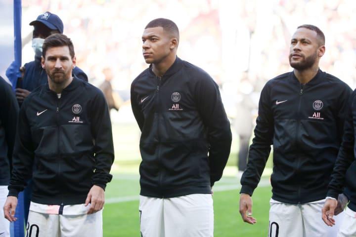 Lionel Messi, Leo Messi, Kylian Mbappe, Neymar Jr
