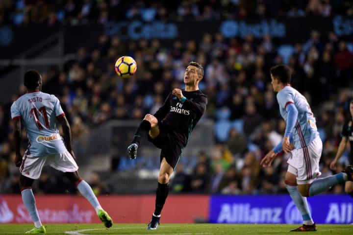 Pione Sisto, Cristiano Ronaldo